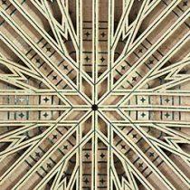 Is je nieuwsbrief opdringerig | Plafond van de Iglesia del Salvador, Granada, Spanje