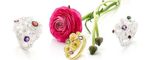 Nicoline van Boven, edelsmid, goudsmid, roosjesring
