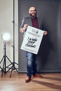 Ondernemen met Bas van Loo, interview over ondernemen als kleermaker